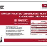 Emergency Lighting Certificates