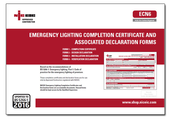 Emergency Lighting Certificates